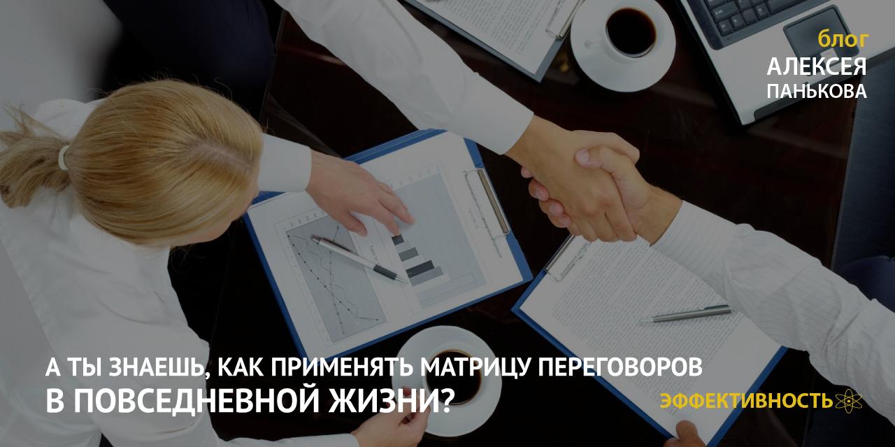 матрица переговоров